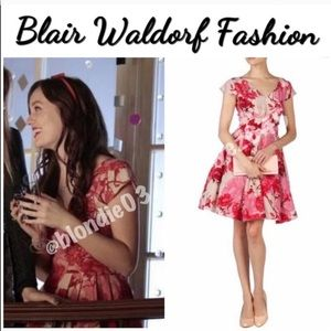 """Ted Baker """"Cissi"""" floral etchings dress 2/US6"""